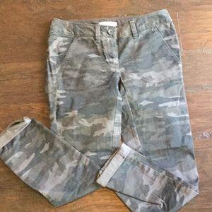 Loft camo pants